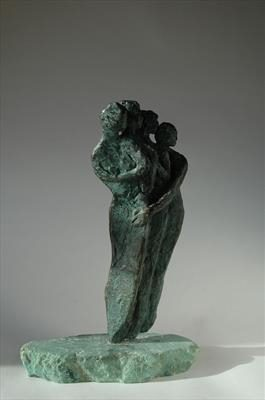 Family Wing, Limited Edition Bronze 26cm(h) Edition of 9