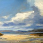 Fiskavaig, Skye, Oil on Board