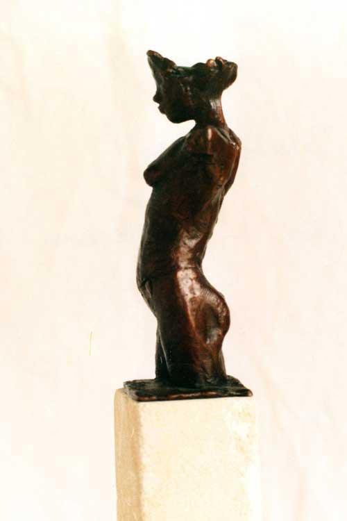 Small Torso of Child, Bronze
