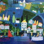Painting a Cornish Scene (Summer half term) 3