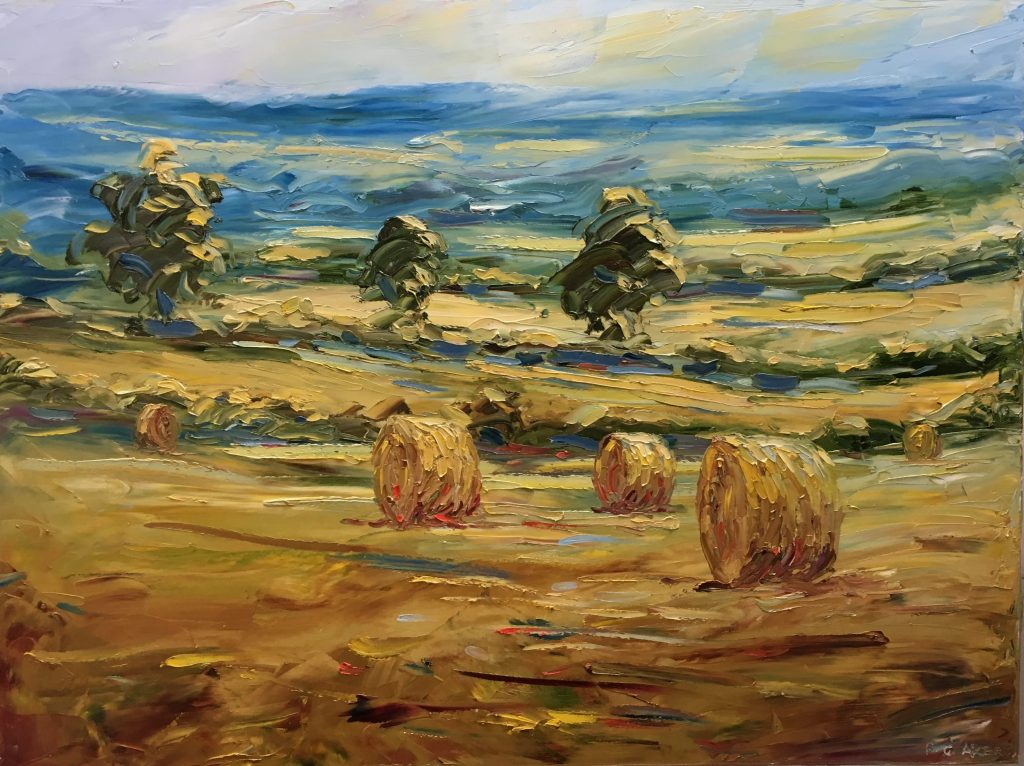 Landscape Painting with Oils & Palette Knife with Rupert Acker 3