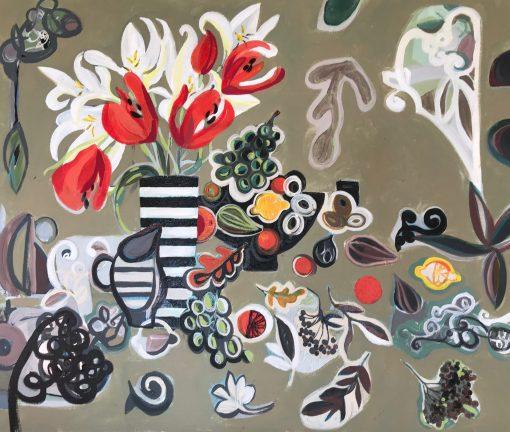Marissa Weatherhead, Red Tulips 1