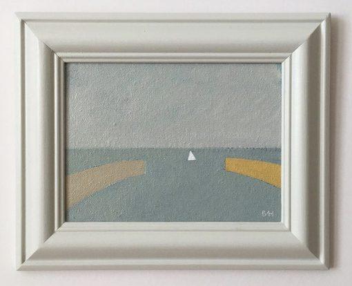 Bess Harding, Sailing In 1