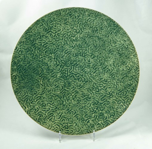 David Gee, Green coral plate 427 1
