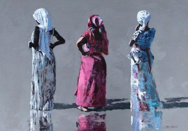 Three Women on the Beach, Gambia 1