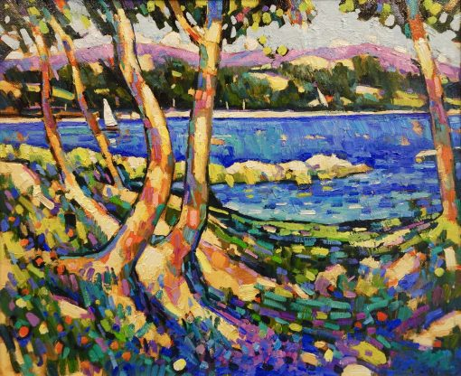 Terence Clarke, Lac St Cassien, Provence 1
