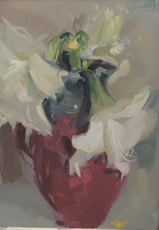 Serena Rowe, Amaryllis in St Agnes Jug 1