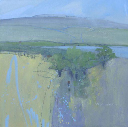 Norma Stephenson, Limestone Landscape 1