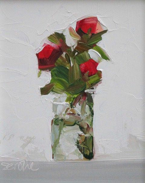 Roses in Jam Jar 1