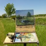 Painting the Landscape in Oil with Richard Pikesley