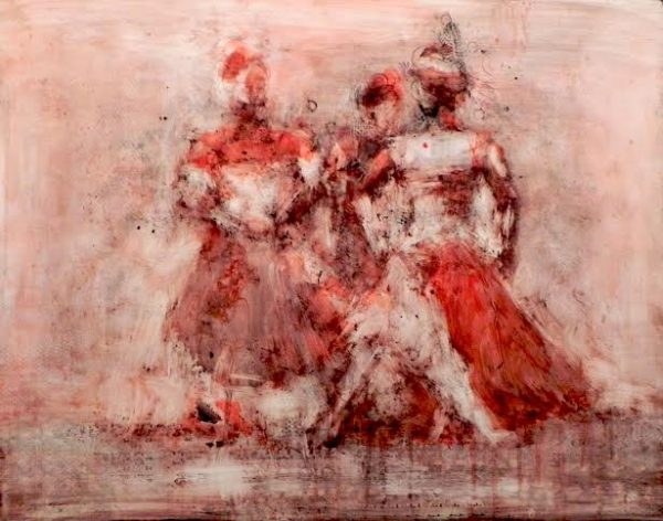 3 Red Dancers 1
