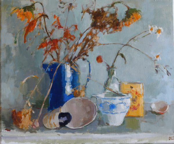 Still Life with Blue Jug 1