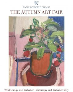 Nadia Waterfield Autumn Art Fair Invite