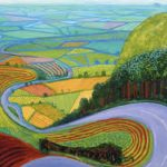 Children's workshop (Half Term)- Painting the Landscape in a David Hockney style (half term) 3