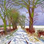 Children's workshop (Half Term)- Painting the Landscape in a David Hockney style (half term) 2