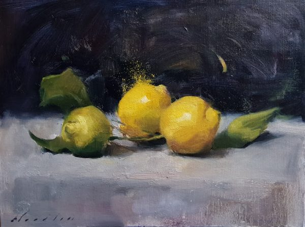 Italian Green Lemons 1