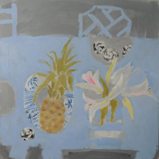 Kitchen Still Life, with Lilies 1
