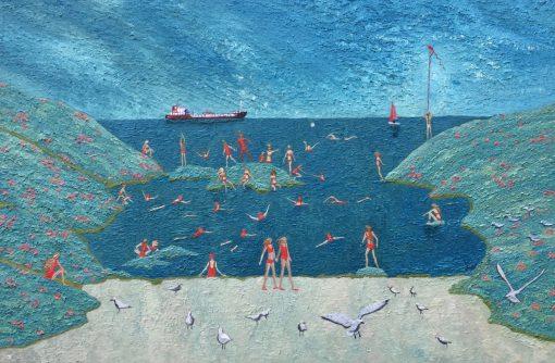 Andrea Allen, Sovereignty Swim Club on Future Island 1