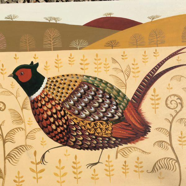 Foraging Pheasant 1
