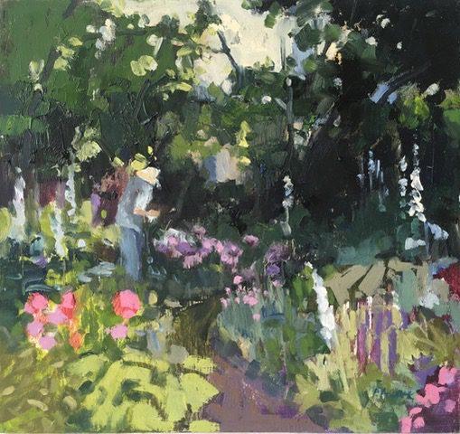 The Garden in Summer 1 1