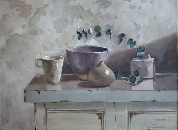 Eucalyptus & Pots 1