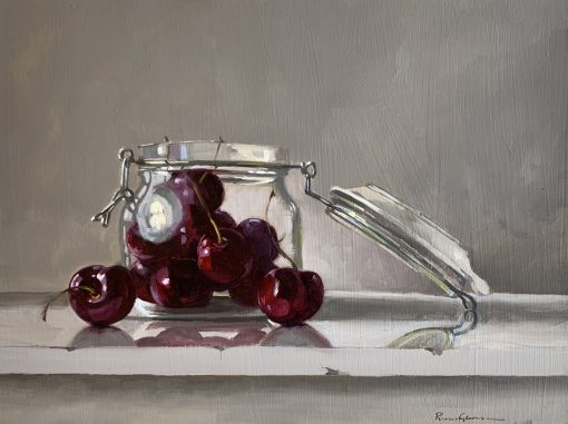 Cherries in Kilner Jar 1
