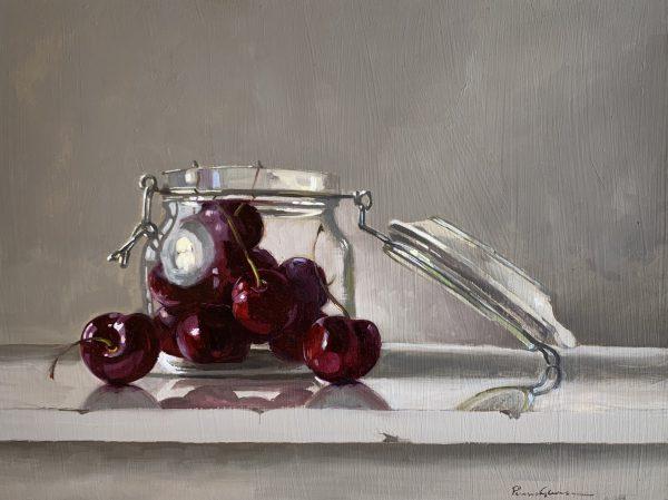 Cherries in Kilner Jar 1