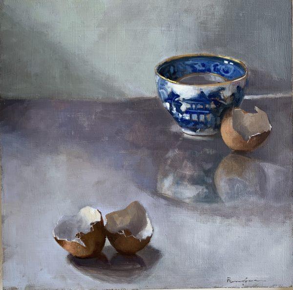 Teabowl & Eggshells 1
