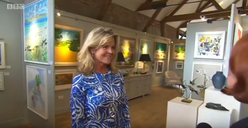BBC Coverage - Nadia Waterfield Fine Art 1