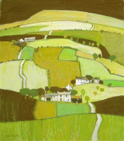 Moira Huntly, Cumbrian Landscape 1