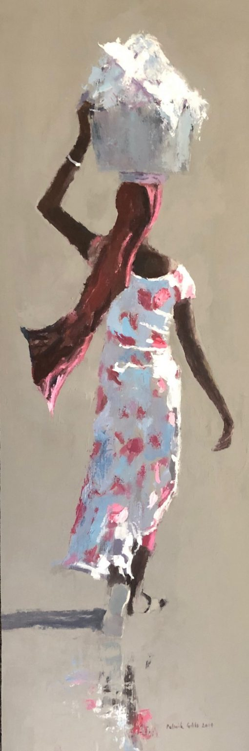 Woman in Pink & White, Gambia 1
