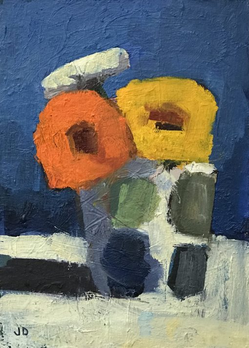 John Dobbs, Flowers in a Coffee Mug 1