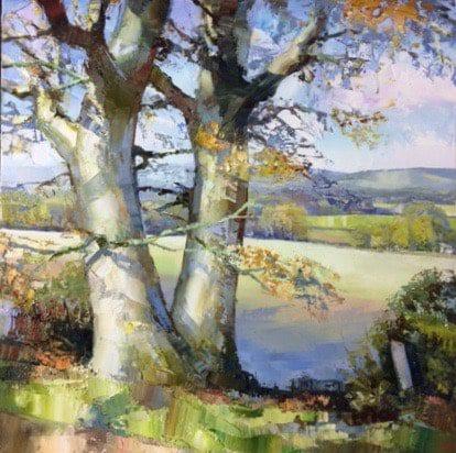 Jonathan Pocock, Hampshire Landscape II 1