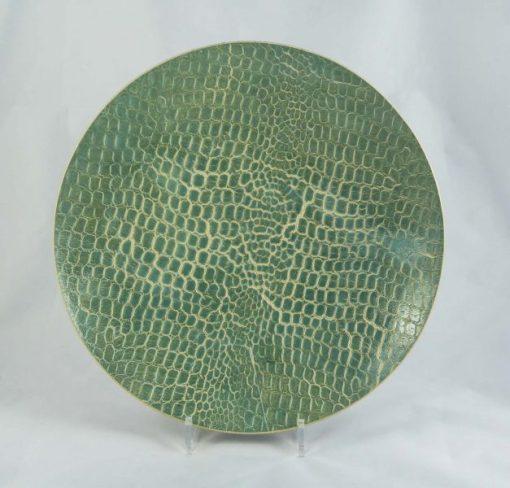 Green & Grey Coral Bowl 1