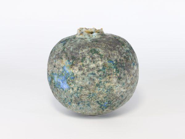 Copper Pod with Bright Blue 1