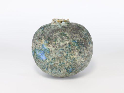 Copper Pod with Bright Blue (007) 1