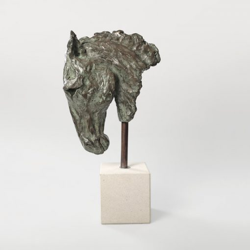 Laura Pentreath, Horse's Head (Resin) 1