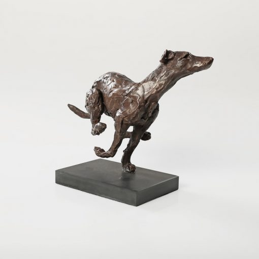 Laura Pentreath, Running Lurcher 1