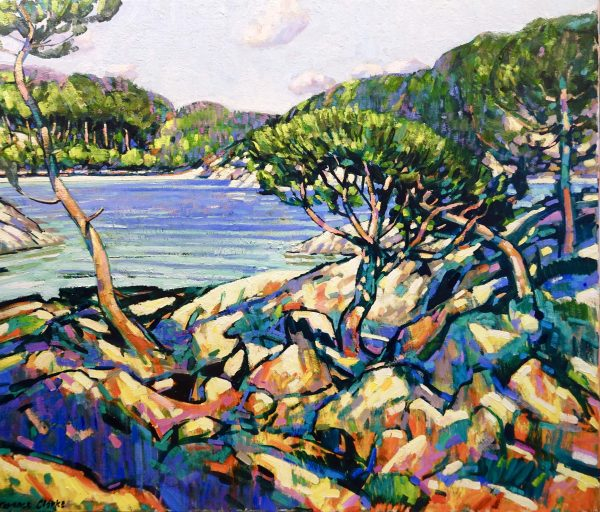 Twisted Pines near Cap Ferrat 1