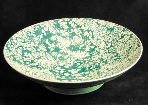 Blue & Green Tectonic Plates Bowl 1