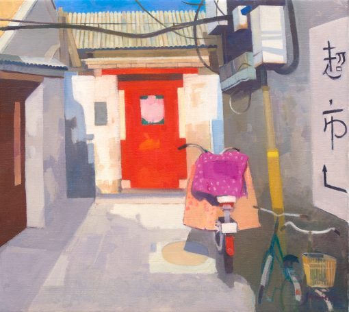 Charles Jamieson, Red Bicycle Beijing 1