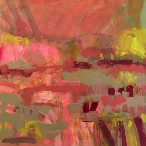 Claire Oxley, Coral Sunset 1