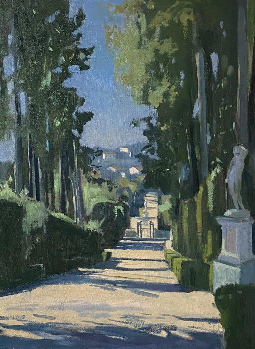 Daisy Sims-Hilditch, Morning Light Boboli Gardens 1