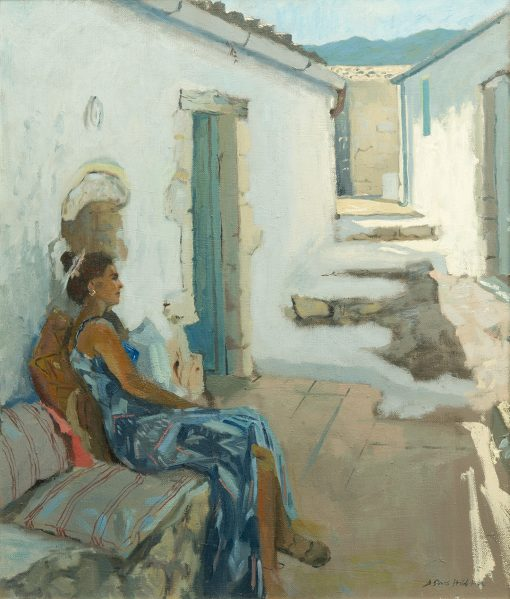 Daisy Sims-Hilditch, Evita in the Afternoon Light at Xyloporta 1