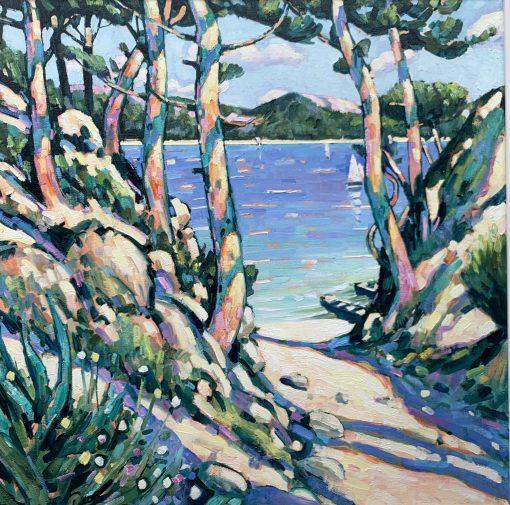 Terence Clark, Sunlit Pines, near Port D'Olon 3