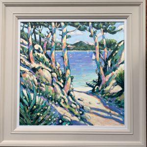 Terence Clark, Sunlit Pines, near Port D'Olon 4