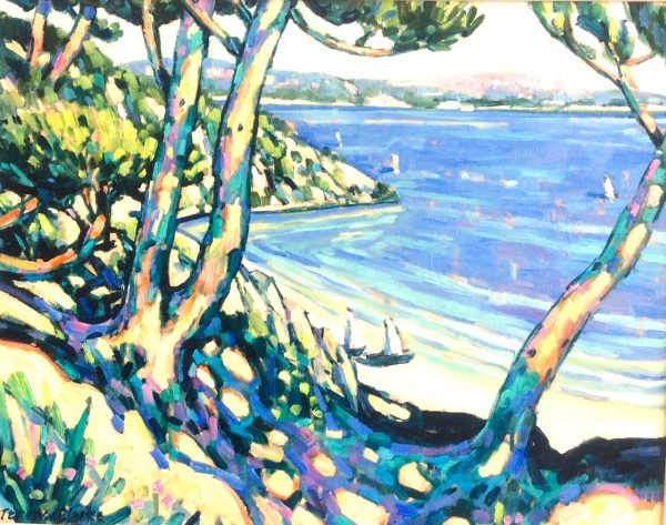Terence Clark, Pines at St Cyr sur Mer 1