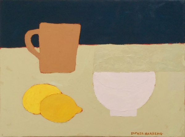 Sophie Harding, Cup, Bowl and Lemons 1