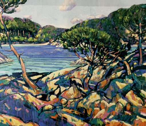 Terence Clark, Twisted Pines near Cap Ferrat 1