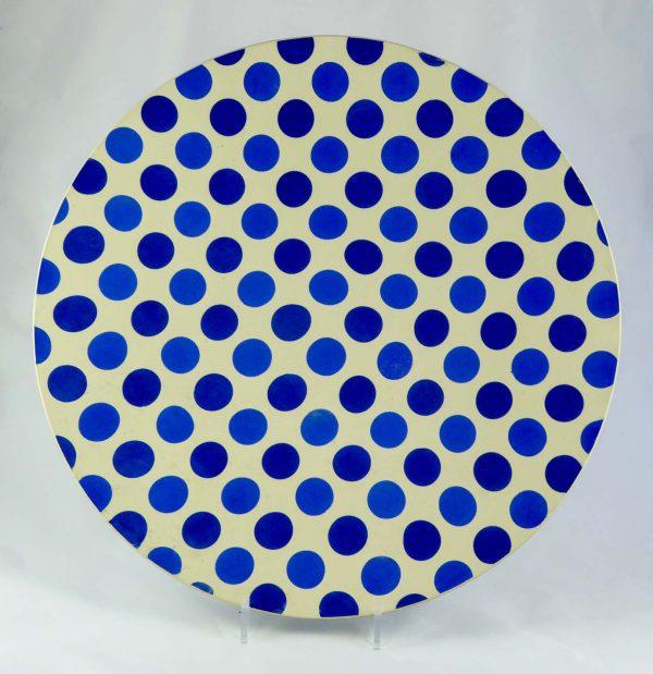 David Gee, Two Blue Dotty Bowl 1